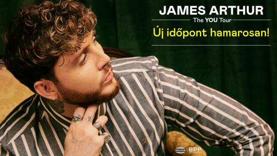 ELHALASZTVA - James Arthur: The You Tour 2020   Budapest