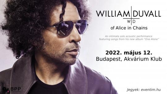 ÚJ DÁTUM - William DuVall of Alice in Chains